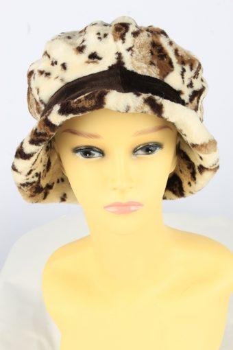 Brim Winter Soft Hat Vintage Womens