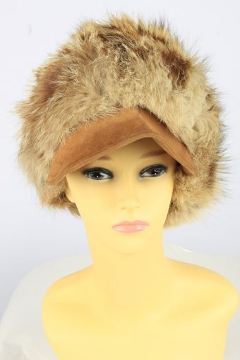 Russian Fur Cossack Hat Vintage Womens