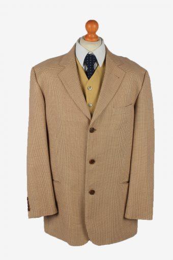 Hugo Boss Blazer Jacket Mens Cashmere Size XL Beige 54