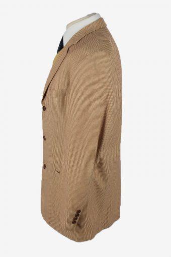 Hugo Boss Blazer Jacket Mens Cashmere Vintage Size XL Beige -HT2911-155495