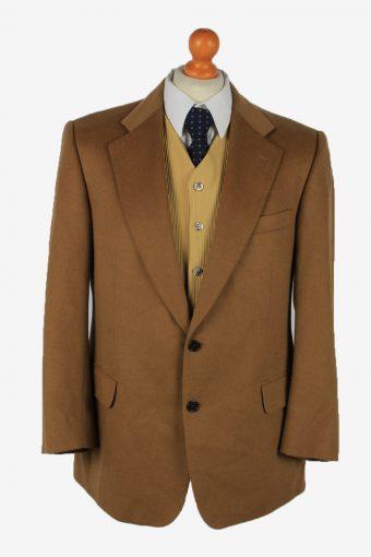Blazer Jacket Mens Cashmere Camel 23