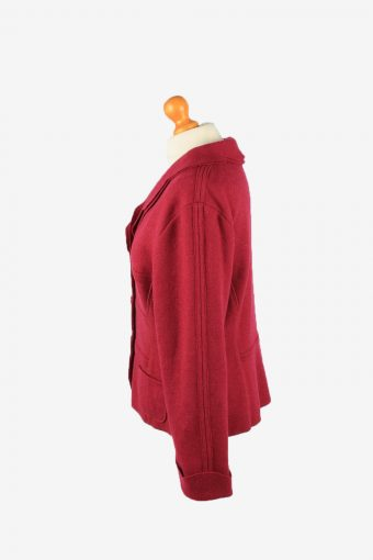 Isis Womens Blazer Jacket Vintage Size 44 Purple -HT2896-155139