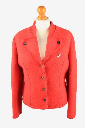 Womens Blazer Jacket Red M