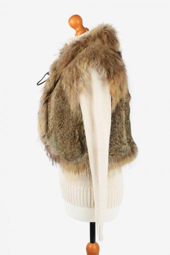 Fur Gilet Waistcoat Vintage Sinhuli Shuidiao Womens Light Brown C2278-155435