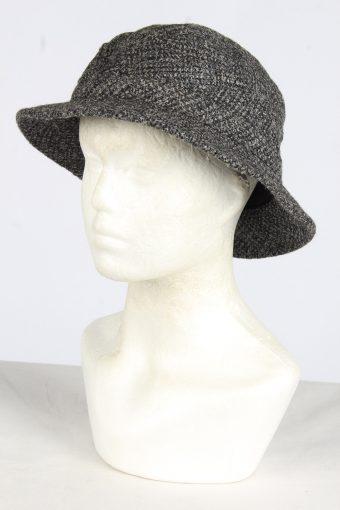 Trilby Lined Winter Hat Vintage Unisex