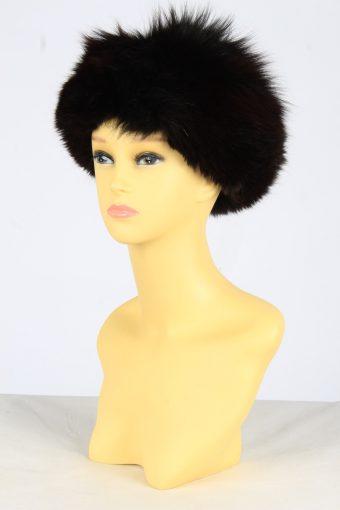 Fur Winter Cossack Hat Vintage Womens