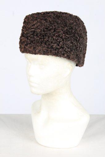 Fur Ushanka Hat Vintage Womens