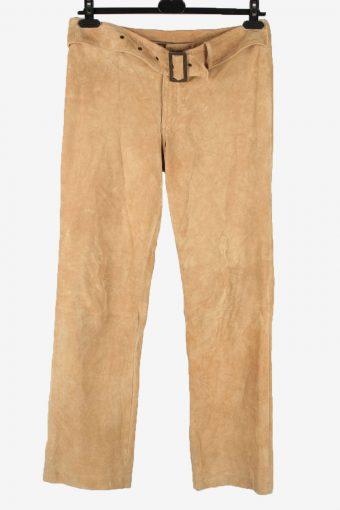 Amisu Genuine Leather Jeans Belt Womens W33 L32