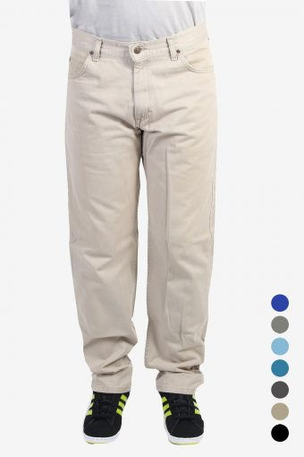 Vintage Lee Chino Trousers Lightweight Jeans
