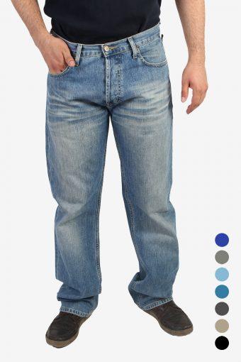 Lee Seattle Jeans Mid Waist Straight Leg Vintage