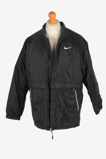 Mens Nike Puffer Jacket Padded Vintage Size S Black C2515-158205