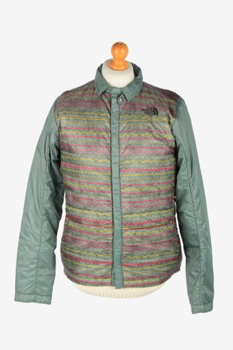 Mens The North Face Puffer Jacket Fashion Design Vintage Size M Multi C2520