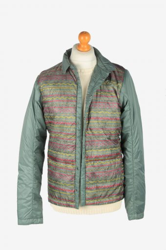 Mens The North Face Puffer Jacket Fashion Design Vintage Size M Multi C2520-158230