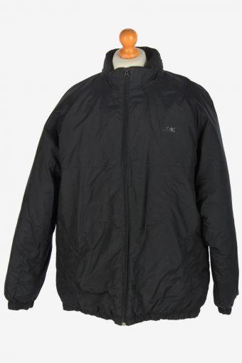 Mens Nike Puffer Jacket Vintage Size L Black C2437