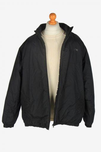 Mens Nike Puffer Jacket Vintage Size L Black C2437-157553