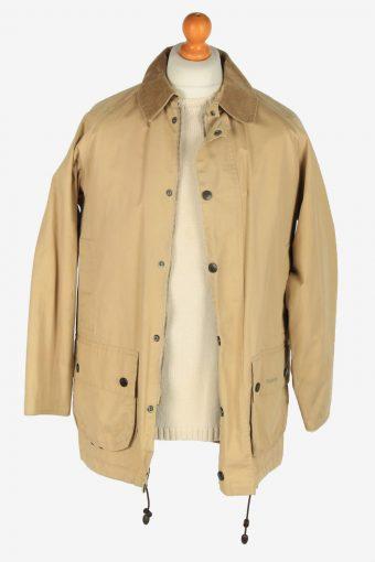 Mens Barbour Beaufort Jackets Vintage Size S Light Coffee C2396-157343