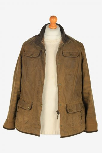 Womens Barbour Utility Jackets Vintage Size XL Dark Brown C2400-157363