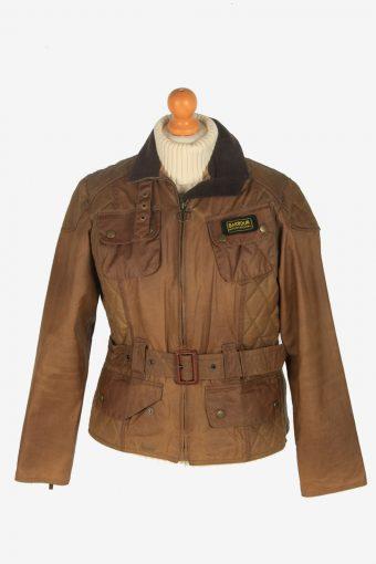 Womens Barbour Jackets Vintage Size S Dark Brown C2403