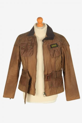 Womens Barbour Jackets Vintage Size S Dark Brown C2403-157378