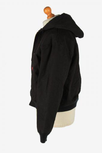 Mens Dickies Bomber Leroy Jacket Vintage Size L Black C2647-158966
