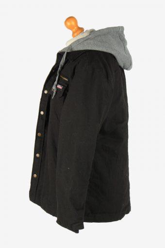Mens Dickies Insulated Overshirt Jacket Vintage Size M Black C2653-158996