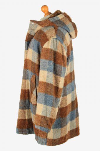 Mens Field Streaw Aztek Print Wool Coat Vintage Size XL Multi C2661-159036
