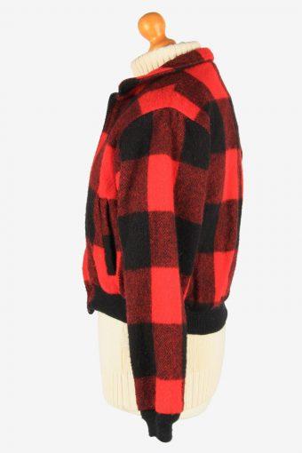 Womens Woolrich Bufolo Wool Jacket Vintage Size L Multi C2667-159066