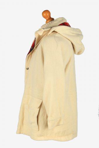 Mens Woolrich Harrington Wool Jacket USA Vintage Size M Beige C2668-159071