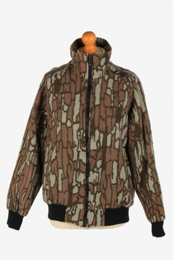 Womens Cabelas Camauflage Hunting Jacket Vintage Size M Multi C2670