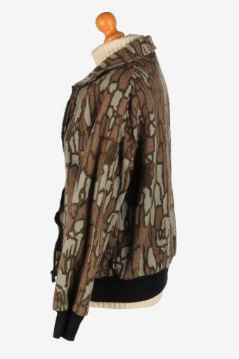 Womens Cabelas Camauflage Hunting Jacket Vintage Size M Multi C2670-159081