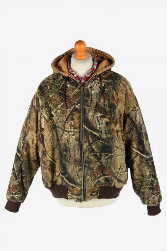 Mens Walls Outdoor Hunting Reversible Jacket Vintage Size XL Multi C2705