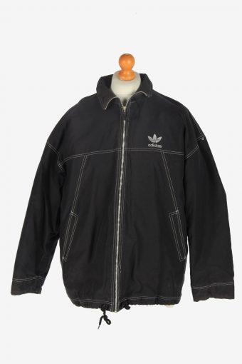 Mens Adidas Outdoor Jacket Vintage Size XL Black C2448