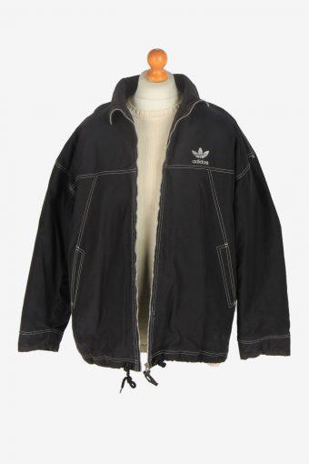 Mens Adidas Outdoor Jacket Vintage Size XL Black C2448-157625