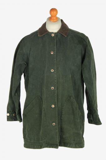 Mens Gotcha Covered Covered Estade Jacket Vintage Size L Green C2453