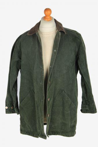 Mens Gotcha Covered Covered Estade Jacket Vintage Size L Green C2453-157650