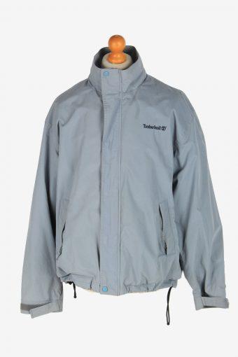 Mens Timberland Lightweight Jacket Vintage Size L Blue C2456