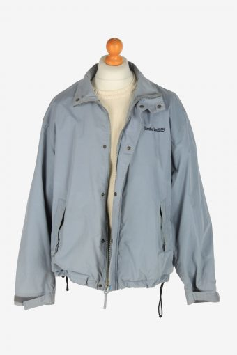 Mens Timberland Lightweight Jacket Vintage Size L Blue C2456-157665