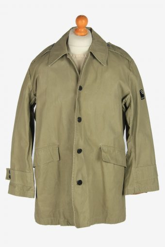 Mens G-Star Raw Outdoor Army Jacket Vintage Size L Light Green
