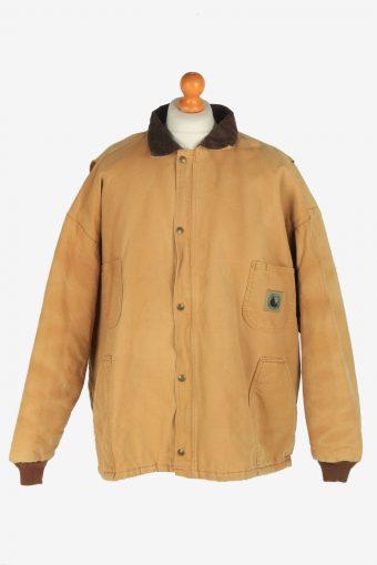 Mens Corduroy Detail  Jacket Vintage Size XXXL Beige C2466