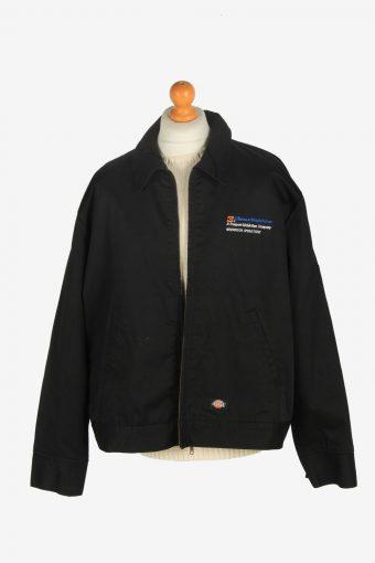 Mens Dickies Outdoor Workwear Coat Jacket Vintage Size XXL Black C2475-157756