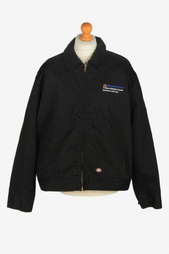 Mens Dickies  Outdoor Workwear Coat Jacket Vintage Size XXL Black C2475