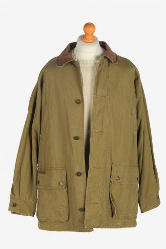 Mens Timberland Weathergear Jacket Vintage Size L Khaki C2477-157761