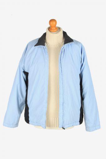 Womens Kappa Puffer Jacket Vintage Size M Blue C2489-157926