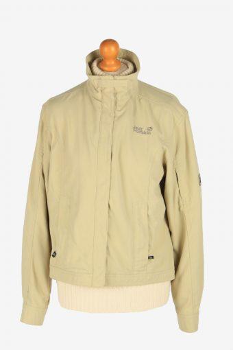 Womens Jack Wolfskin Summer Storm Jacket Vintage Size L Beige C2490