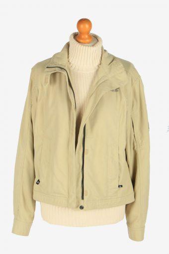 Womens Jack Wolfskin Summer Storm Jacket Vintage Size L Beige C2490-157931