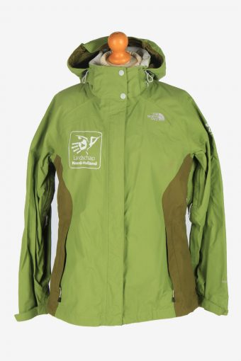 Womens The North Face Windproof Jacket Vintage Size L Green C2493