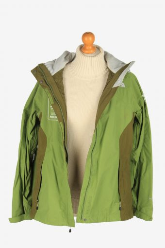 Womens The North Face Windproof Jacket Vintage Size L Green C2493-157946