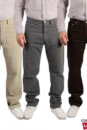 Levis Corduroy Straight Leg Trousers
