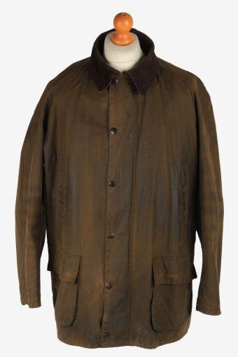 Mens Barbour Bristol Waxed Jacket Vintage Size XXL Khaki C3010