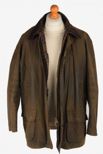 Mens Barbour Bristol Waxed Jacket Vintage Size XXL Khaki C3010-163200